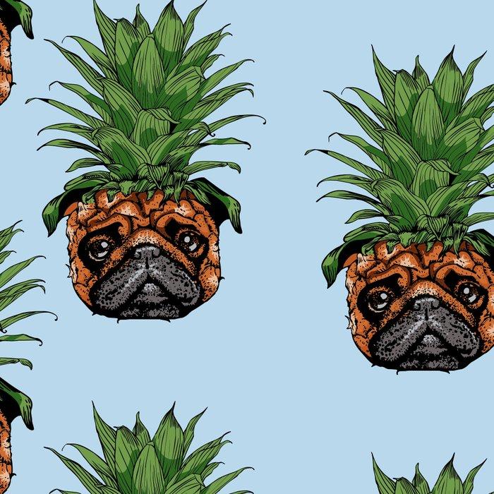 Pineapple Pug Leggings