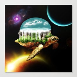 The great A Tuin Canvas Print