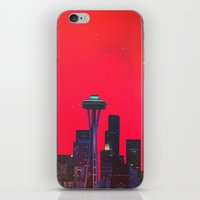 seattle iPhone & iPod Skins featuring Seattle. by Daniel Montero