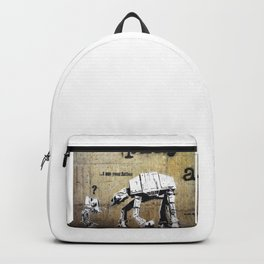 Banksy, I am your father Backpack