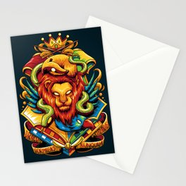 Harry Potter : Hogwarts Houses Stationery Cards