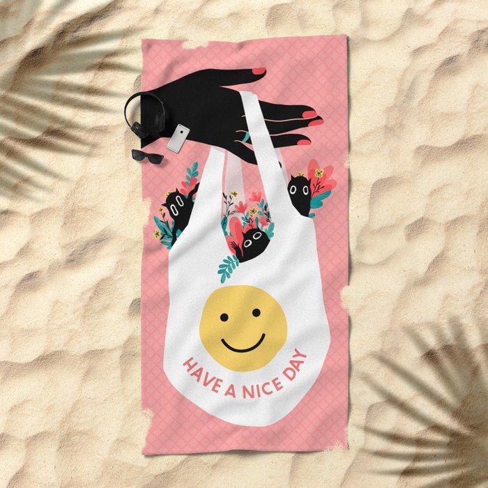 H.A.N.D. Beach Towel