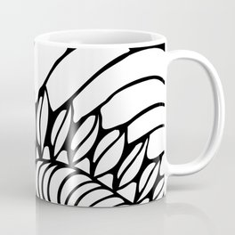Shell of Abstract Coffee Mug