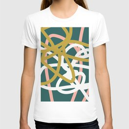 Abstract Lines 02B T-shirt