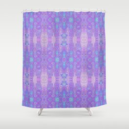 Lavender Dreams Abstract Shower Curtain
