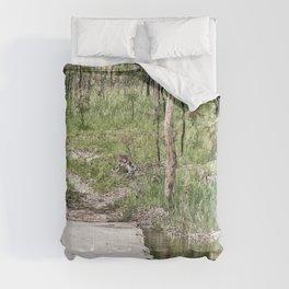 Rustic water crossing Comforters