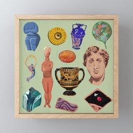 objects at The Met Framed Mini Art Print