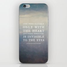 III. Anything essential is invisible to the eyes. iPhone & iPod Skin
