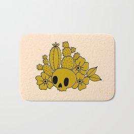 Skull and Cactus Bath Mat