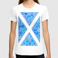 scotland T-shirts featuring Oh, Flower of Scotland by Hayley Lang