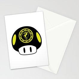 Solar Plexus Chakra Mushroom Stationery Cards
