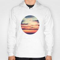 sunset Hoodies featuring Sunset by JoanaRosaC