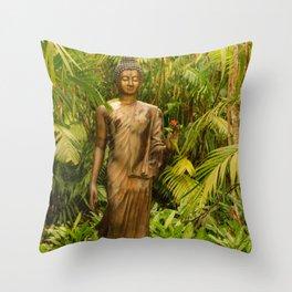Hawaiian Zen Throw Pillow