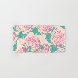 rosa rosae rosarum Hand & Bath Towel