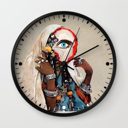 The Divinator Wall Clock