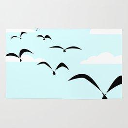 The Birds Rug