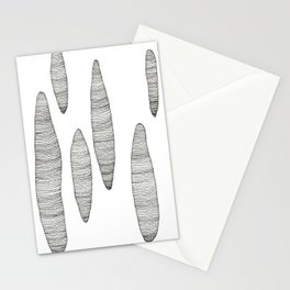 floating mountains (nomads) Stationery Cards