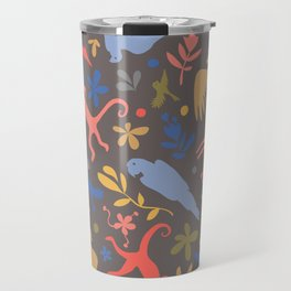 Frida Menagerie in Studio Travel Mug