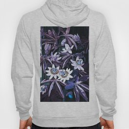 Temple of Flora Midnight Blue Purple Hoody
