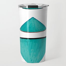 Non la Vietnamese Conical Leaf Hat Travel Mug