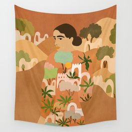Freedom in Morocco Wall Tapestry
