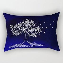 Wind On a Blue Day Rectangular Pillow
