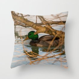 Germano Reale Throw Pillow