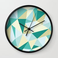 3d Wall Clocks featuring 3D by petitscoquins