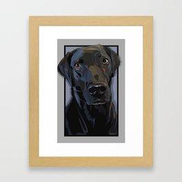 Jeb Lab Dog Framed Art Print