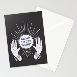 Weird Future Stationery Cards