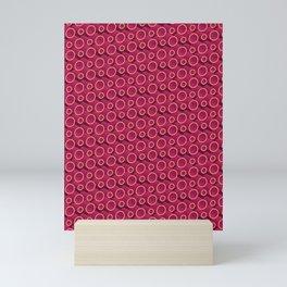 3D Lovely Pattern X 2 Mini Art Print