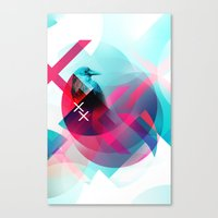 the xx Canvas Prints featuring XX by NewFoundBrand