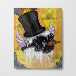 Frosty's Lament Print~! Metal Print