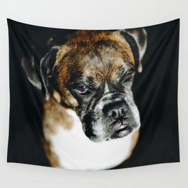 Boxer Dog Wall Tapestry