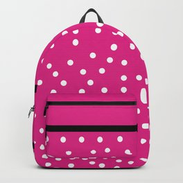 Pink Black Collection Backpack
