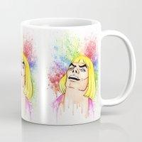 he man Mugs featuring He-Man by Creadoorm