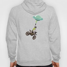 Motocross alien Hoody