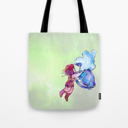 Ruby and Sapphire Tote Bag