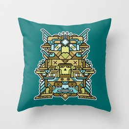 Totem 2 Throw Pillow