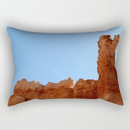 Rocks and Plane in Utah Rectangular Pillow