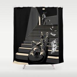 Film noir Shower Curtain
