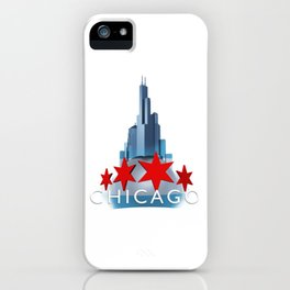 The Windy City iPhone Case