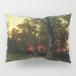 Woods in the Evening by Ivan Shishkin Pillow Sham