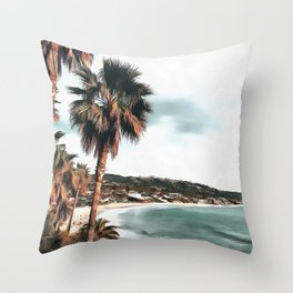 Laguna Beach Throw Pillow
