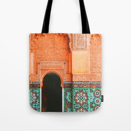marrakech doorway Tote Bag