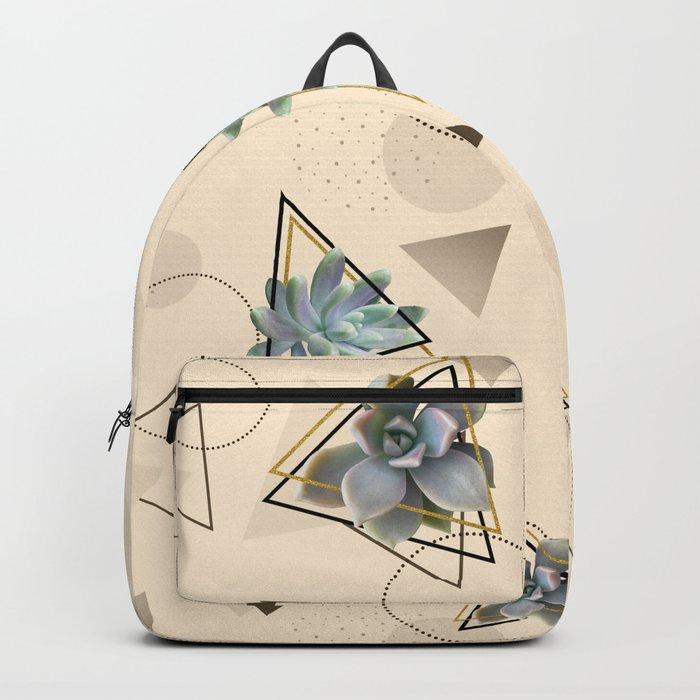 Pretty Succulents #society6 #decor #buyart Backpack