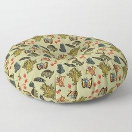 Kaiju Party Floor Pillow