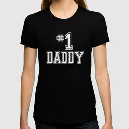 #1 Daddy Father's Day T-shirt
