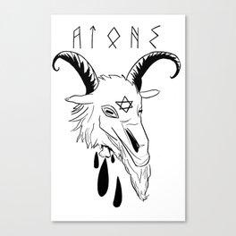 azazel (atone) Canvas Print