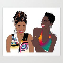 Bestfriends Art Print